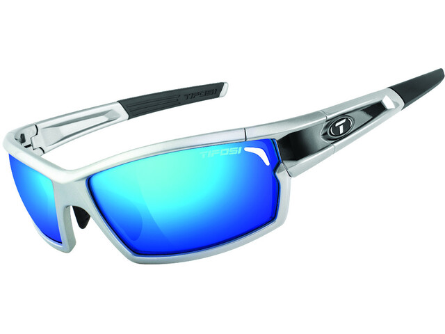 Tifosi Escalate FH Glasses silver/black - clarion blue/AC red/clear